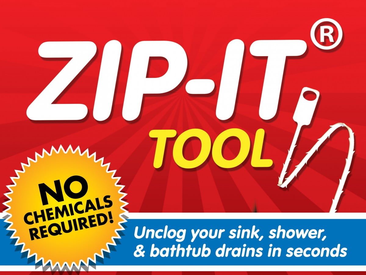 zip it drain cleaner invention how I did it