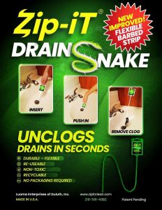 zip it drain cleaning tool